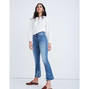 New Madewell High Rise Cali Demi Bootcut Jeans 28P